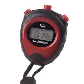 Goldline Stopwatch with Brush Attachment