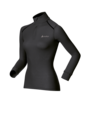 Odlo Ladies Turtle Neck 1/2 zip long sleeve